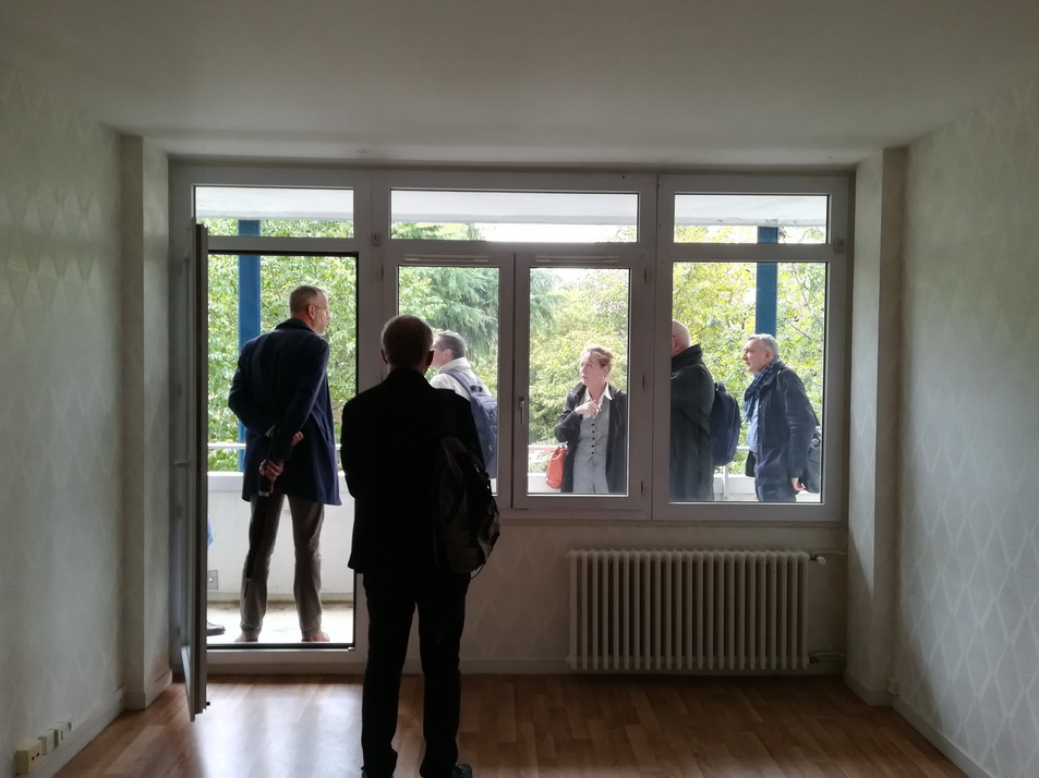 Visite archis tours Brnö appartement